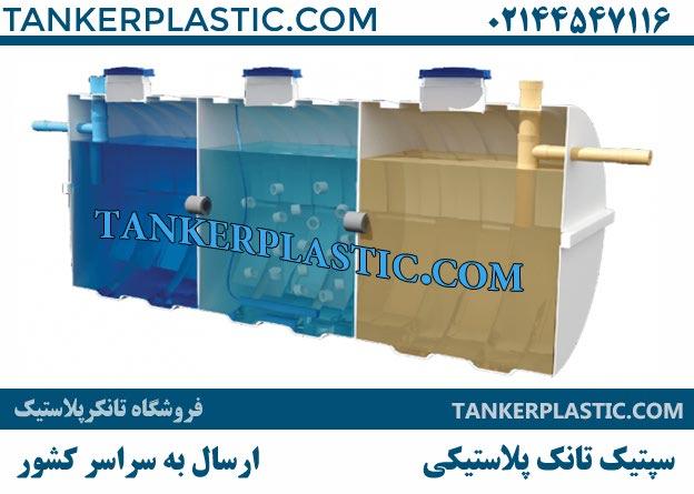 سپتیک تانک پلاستیکی - قیمت سپتیک تانک آماده